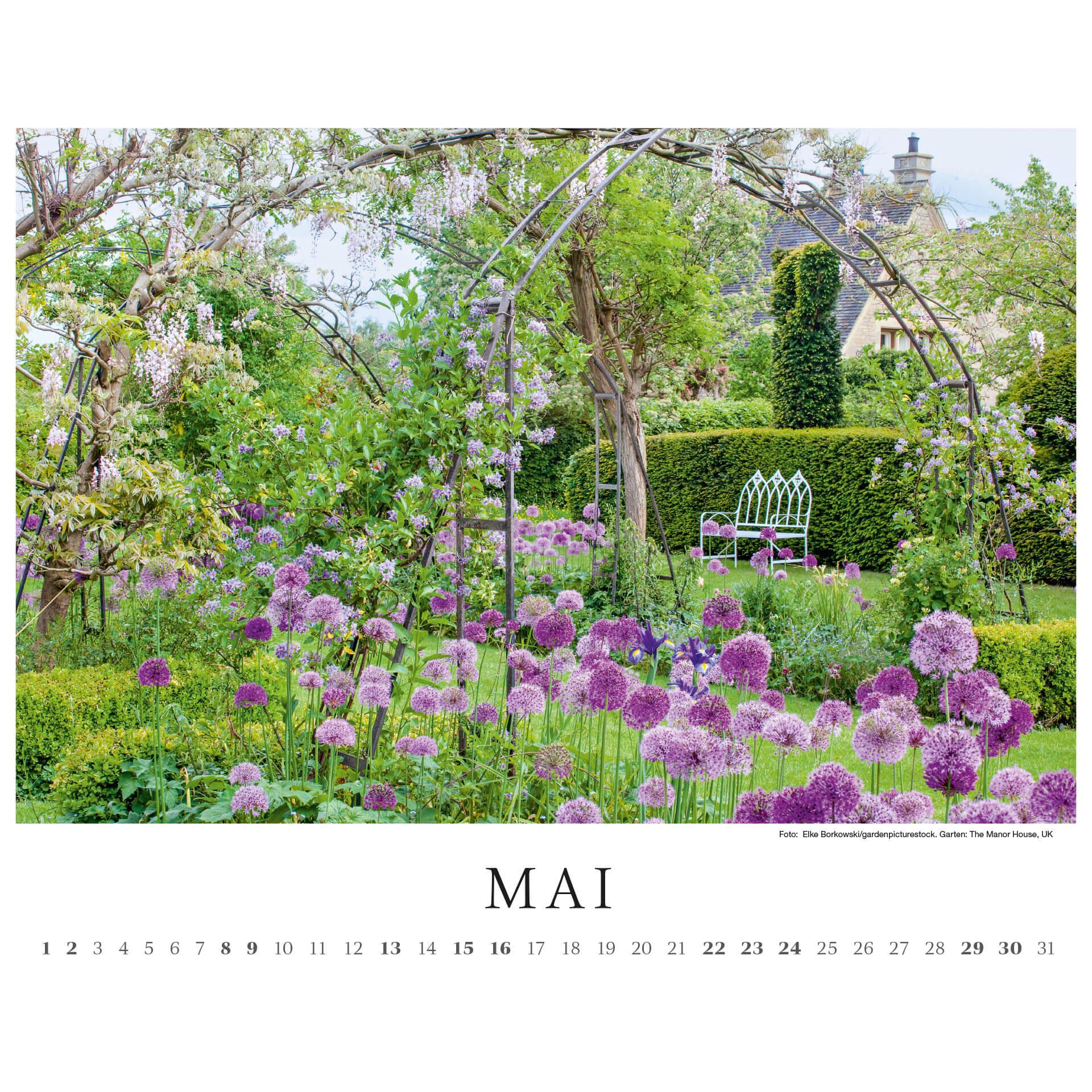 Fotokalender GartenFlora 2021